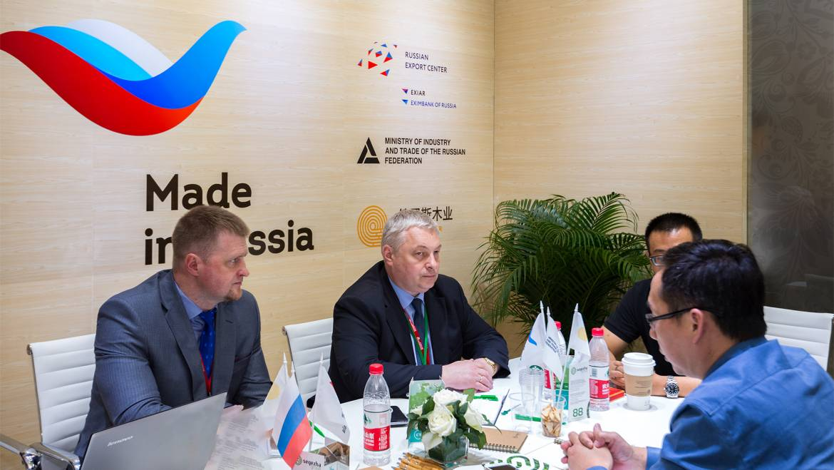 Russia expanding its partnership in Asia – in the framework of the Trade Show in Shanghai a contract worth $ 2.7 mln signed
